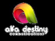 Alfa Destiny Logo - White